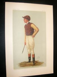 Vanity Fair Print 1887 George Barrett, Jockey